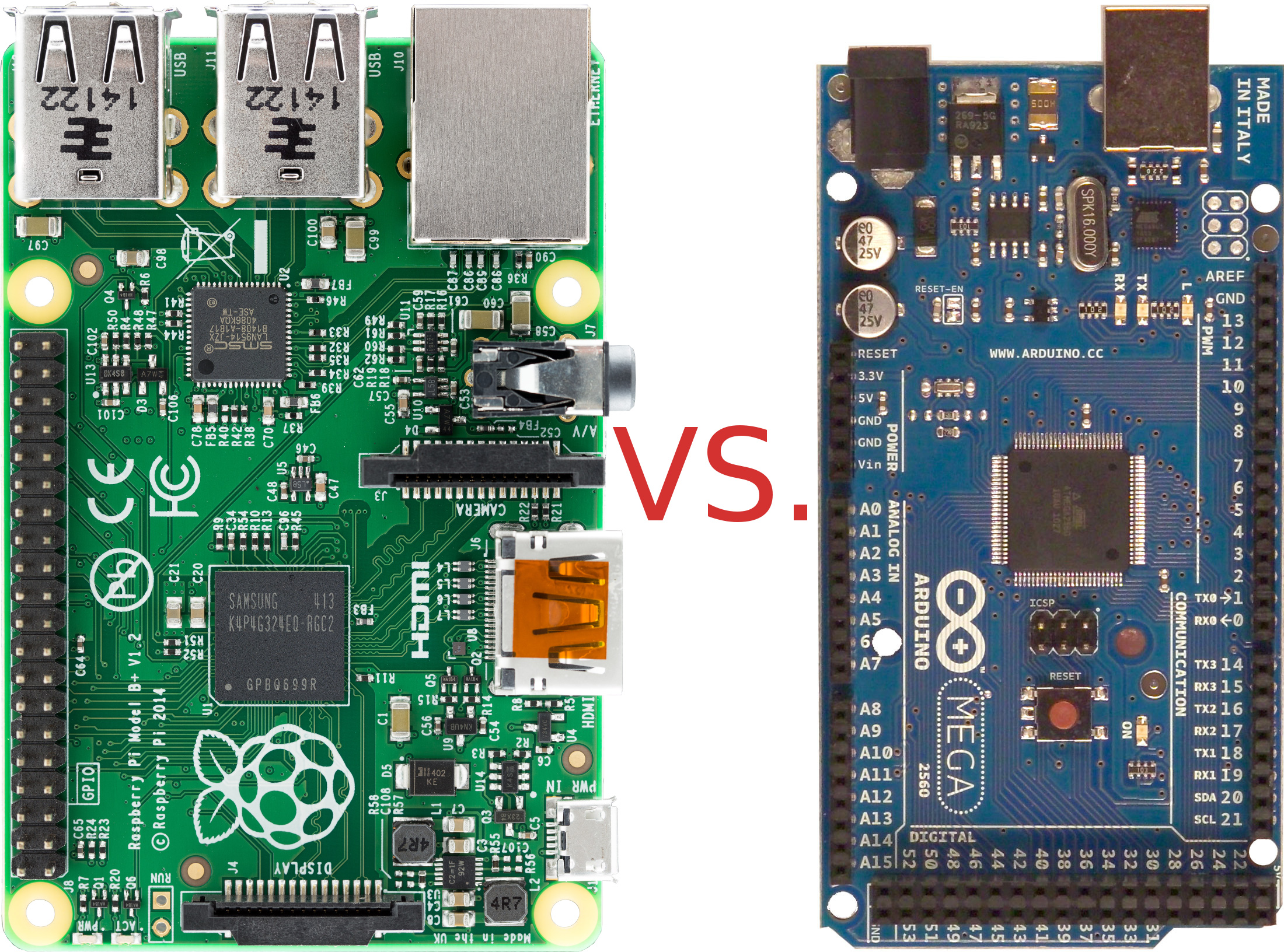 Magnificent Raspberry Pi Vs Arduino Thevdm Com Wiring 101 Tzicihahutechinfo