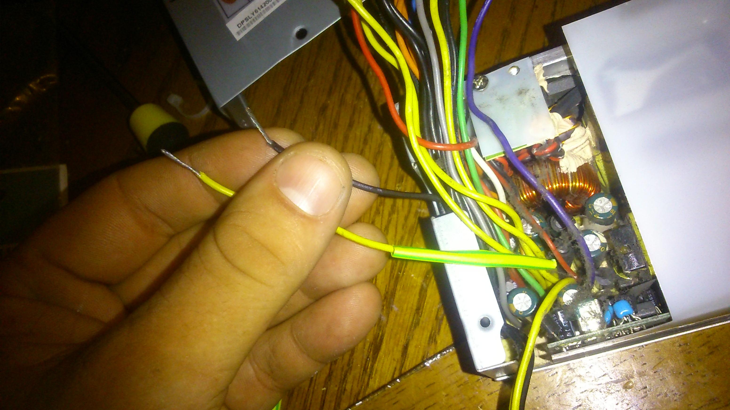 Building an ATX bench power supply (Part 1 – Wiring) – TheVDM.com