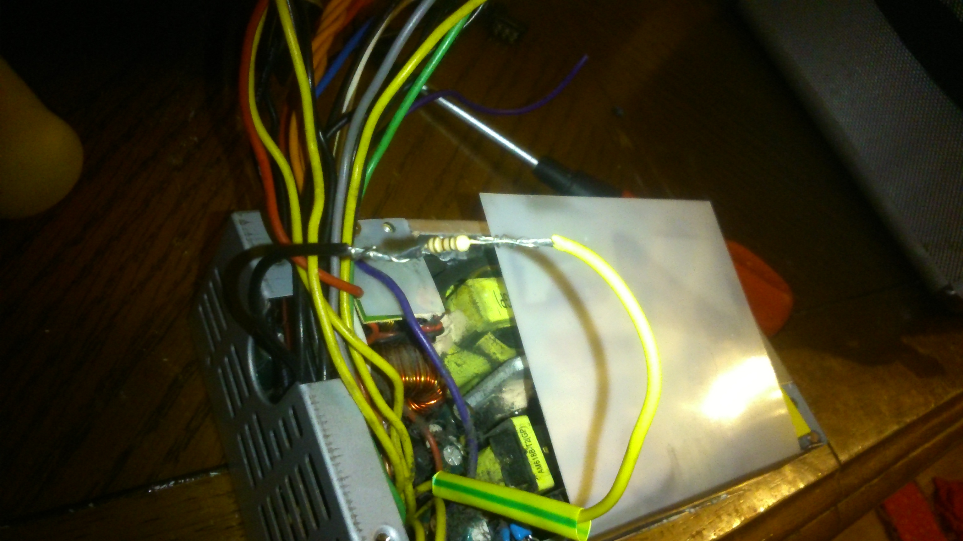 Building An Atx Bench Power Supply Part 1 Wiring Your Pc Adding A Switch